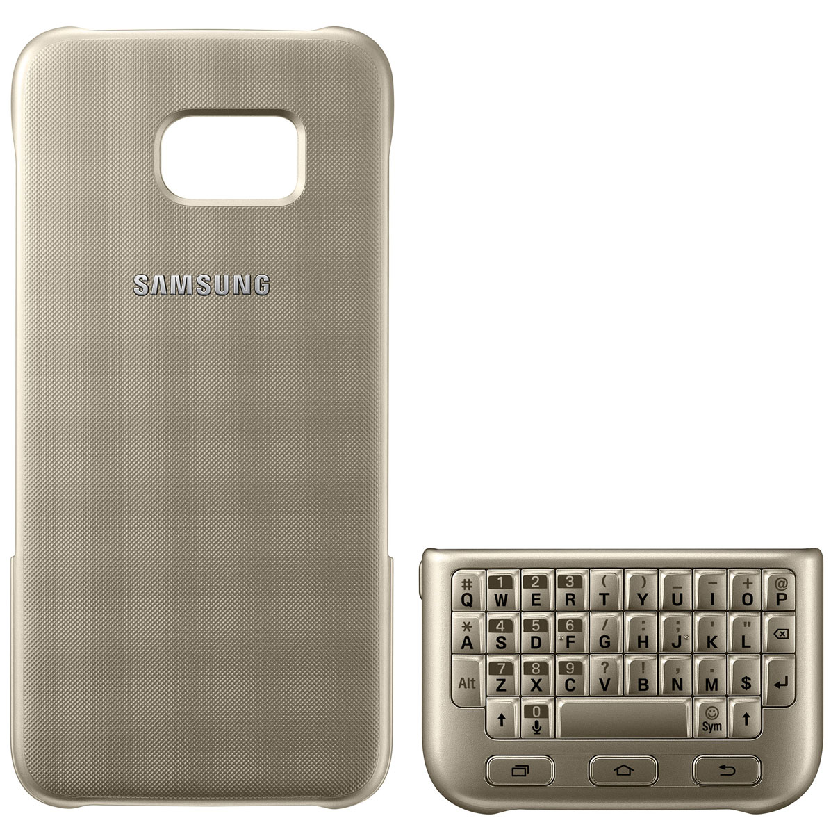 Samsung EJ-CG935 Keyboard Cover чехол-клавиатура для Galaxy S7 Edge, Gold samsung keyboard cover s7 black ej cg930ubegru