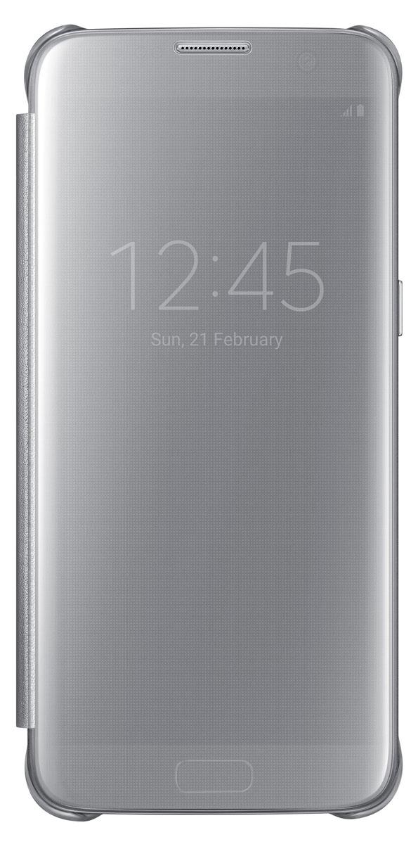 Samsung EF-ZG935 Clear View Cover чехол для Galaxy S7 Edge, SilverEF-ZG935CSEGRUТонкий полупрозрачный чехол Samsung EF-ZG935 Clear View Cover подчеркивает стиль и изящество Galaxy S7 Edge. Плавные линии чехла настолько гармонично дополняют дизайн телефона, что практически полностью сохраняют первоначальный вид устройства, эффективно защищая его от повреждений.Получите доступ ко всем основным функциям телефона, включая приём входящих вызовов и управление воспроизведением музыки, без необходимости открывать крышку чехла. Благодаря специальному покрытию, устойчивому к появлению отпечатков пальцев, вы можете наслаждаться чистым внешним видом устройства как будто вы только что достали его из коробки.