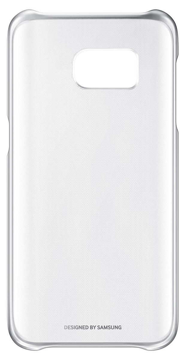 Samsung EF-QG930 Clear Cover чехол для Galaxy S7, SilverEF-QG930CSEGRUSamsung EF-QG930 Clear Cover - прозрачная накладка на заднюю крышку смартфона Samsung Galaxy S7. Тонкий чехол практически не увеличивает размеров смартфона, сохраняя его оригинальный внешний вид и защищая от пыли, грязи и повреждений.Уважаемые клиенты! Обращаем ваше внимание, что данный чехол имеет специальное защитное покрытие под транспортировочной плёнкой в виде тонкой дополнительной плёнки, являющееся неотъемлемой частью крышки и которое нанесено с помощью специального клея. Отделение данного слоя не предусмотрено производителем, и может привести к повреждению аксессуара.