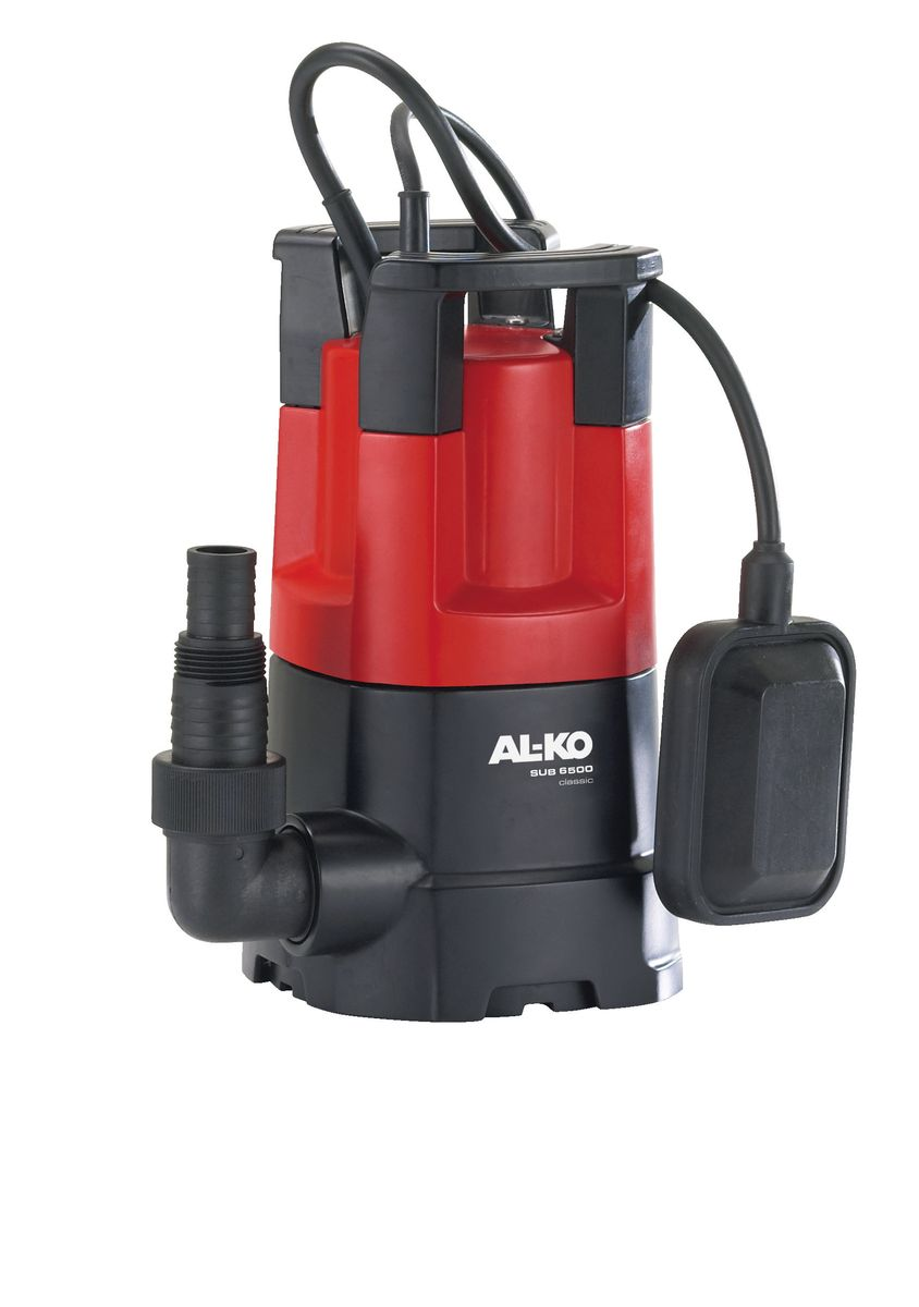 Насос погружной AL-KO SUB 6500 Classic112820для чистой водынадежность, удобство, мощность.