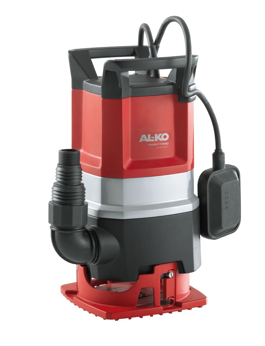 Насос погружной AL-KO Twin 11000 Premium112830За счет простой регулировки основания погружной насосAL-KO Twin 11000 Premium объединяет в одном устройстве все преимущества насосов для грязной и чистой воды - начиная с откачивания грязной воды при поднятом основании насоса до удаления остатков воды в режиме откачивания до минимального уровня. Не подверженные ржавчине стальные валы, не требующие смазки и техобслуживания шарикоподшипники, трехслойный сальник и прочный корпус обеспечивают изделию надежность и долговечность. Высокая производительность и многофункциональность - вот преимущества погружного насоса . С его помощью вы за считанные минуты сможете откачать большие объемы грязной воды. Благодаря запатентованной системе Combi комбинированный универсальный погружной насос не только откачает из пруда грязную воду, но и поможет осушить затопленные помещения (режим откачивания до минимального уровня).Вид привода: электрический.Длина кабеля: 10 м.Мощность: 850 Вт.Максимальная глубина погружения: 7 м.Максимальная высота всасывания: 10 м.Максимальный объем подачи: 13000 л/час.Максимальный размер взвешенных частиц: 20 мм.Диаметр выходного отверстия: 1,5.
