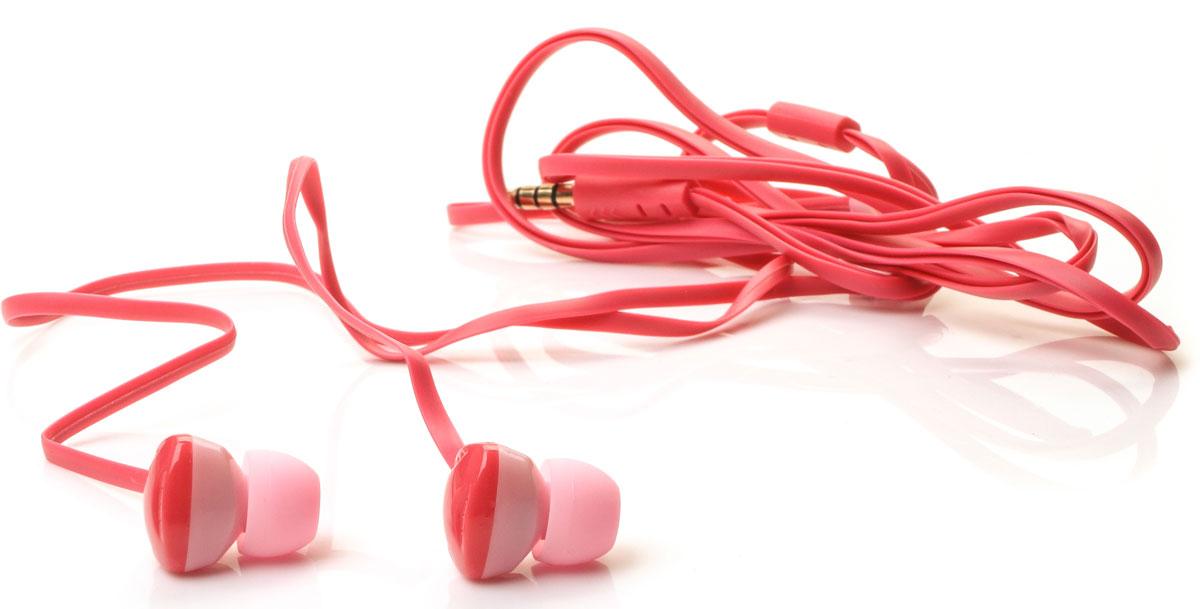 Harper Kids H-31, Red наушникиH00000577Яркие и стильные наушники Harper Kids H-31 с отличным качеством звучания. Гарнитура имеет встроенный пульт и микрофон для быстрого переключения между музыкой и вызовами. Подключив её к своему смартфону или планшету вы сможете не только наслаждаться любимой музыкой, но и с легкостью ответить на звонок, не доставая гаджет. Гарнитура имеет плоский, эластичный и устойчивый к запутыванию кабель длиной 1,2 метра. В комплекте с наушниками идут мягкие силиконовые накладки 3-х размеров для максимального комфорта.