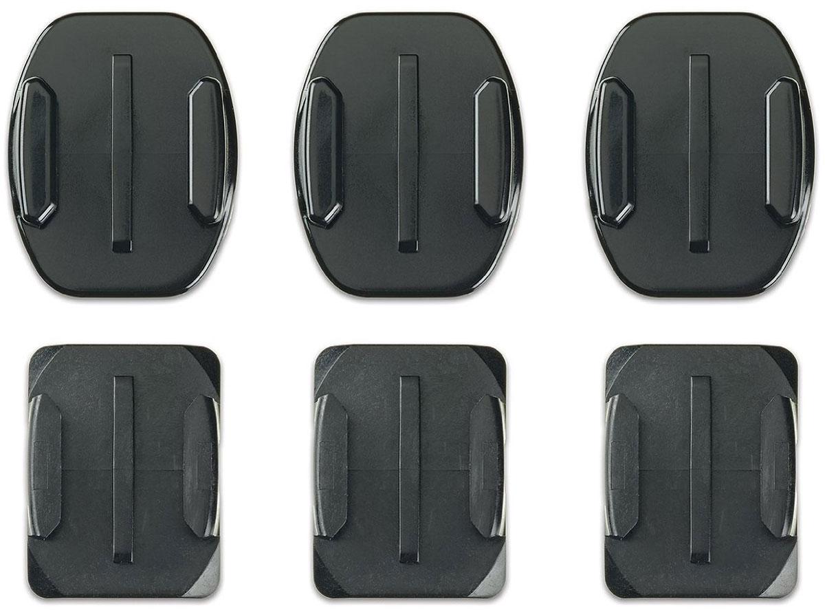 GoPro Flat + Curved Adhesive Mounts, Black крепление для экшн-камеры