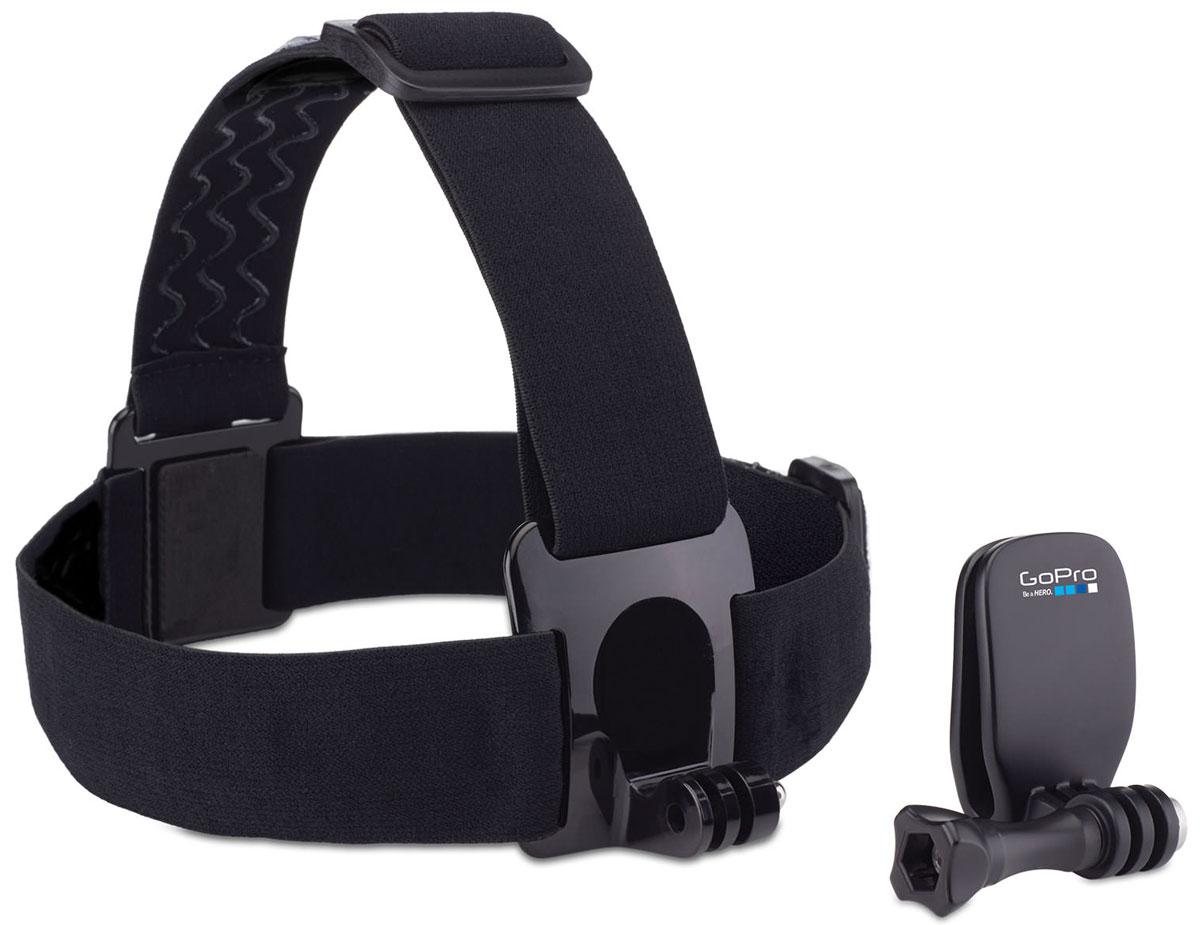 GoPro Head Strap + QuickClip крепление на голову + клипсаACHOM-001Крепите камеру GoPro на голову с помощью HeadStrap, или используйте быстросъемную клипсу QuickClip для крепления камеры на бейсболку или другие объекты толщиной от 3 мм до 10 мм (ремень, шлейка рюкзака). Новая быстросъёмная клипса идеально подходит для более компактного крепления камеры.Крепление на голову также можно использовать для закрепления камеры на каске или шлеме, если другой способ невозможен (например если каска покрыта тканью и к ней нельзя приклеить специальную площадку). Аксессуары изготовлены из очень качественных материалов. На обратной стороне крепления нанесён силикон (чтобы крепление не соскальзывало).
