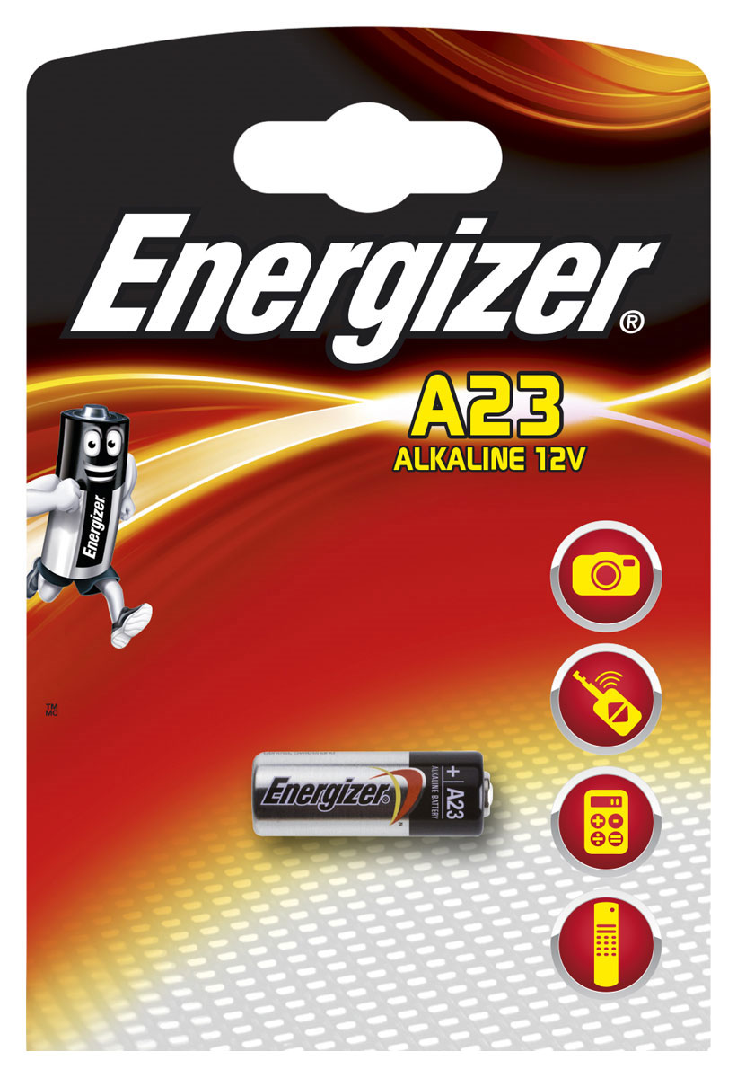 Батарейка Energizer Alkaline, тип A23, 12V электронные книги