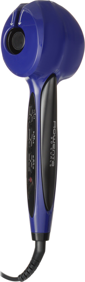 Rowenta CF3611D0 So Curls плойкаCF3611D0Автоматическая плойка для волос Rowenta So Curls с тремя температурными режимами, выбором направления вращения, системой оповещения о готовности локона.Технология автоматической завивки локона Нагрев до нужной температуры за 30 секунд Покрытие керамика-турмалин — естественный блеск ваших волос 3 режима выбора направления вращения, 3 температурных и 4 временных режима