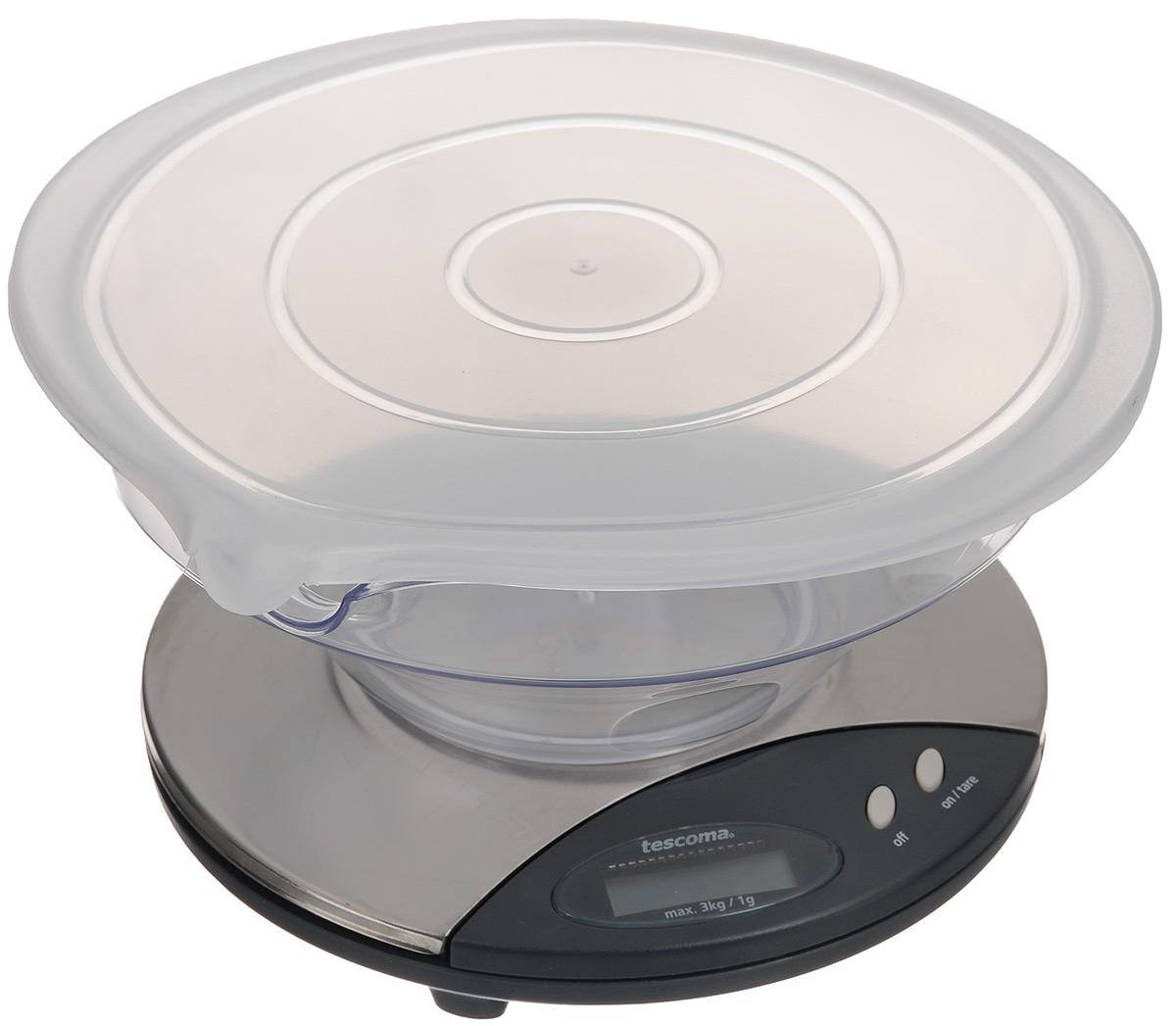 Tescoma Delicia 634572 электронные кухонные весы634572Электронные кухонные весы Tescoma Delicia 634572 замечательны для взвешивания продуктов весом до 3 кг. Весы обладают функцией суммирования с возможностью последовательного взвешивания нескольких видов продуктов в одной емкости. Tescoma Delicia 634572 имеют высокую точность взвешивания - отклонение составляет всего 1 г. Эти весы безусловно станут отличным помощником для любой хозяйки!