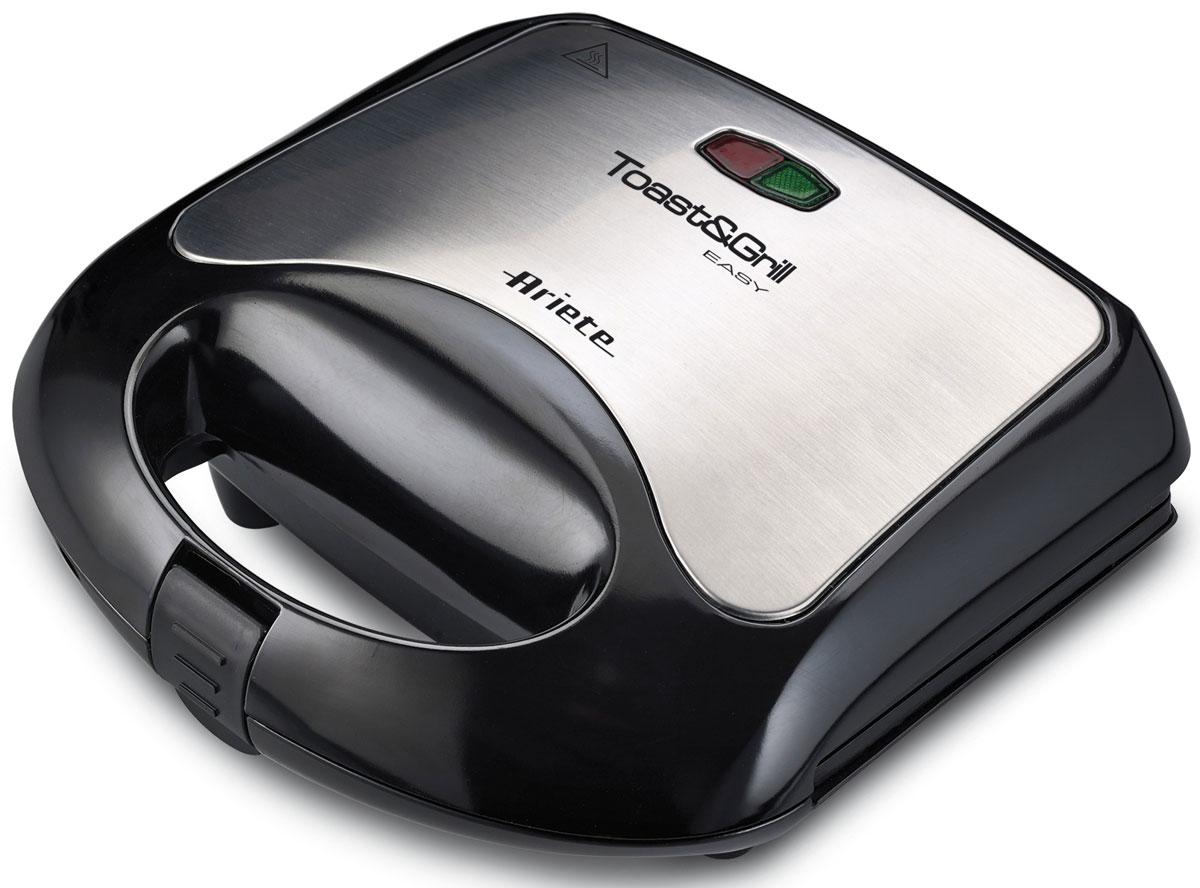 Ariete 1980 Sandwichi maker электрогриль1980Электрогриль Sandwichi maker 1980 от Ariete оснащен антипригарным покрытием гофрированных пластин, что идеально подходит для изготовления превосходных гренок, хот-догов, гамбургеров, а также овощей и мяса на гриле. Устройство легко хранить вертикальном положении. Ariete 1980 Sandwichi maker является отличным компактным прибором для кухни.