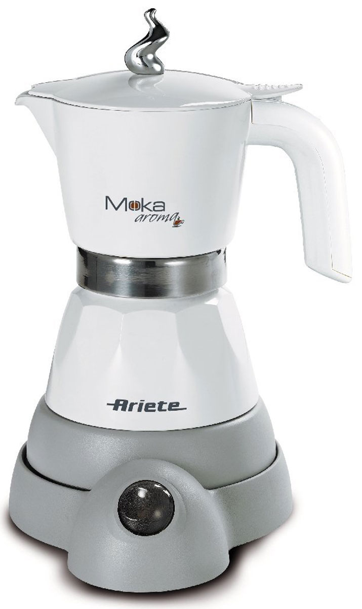 Ariete 1358 Moka Aroma, White кофеварка эспрессо