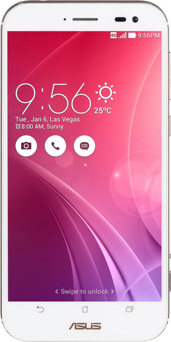 ASUS ZenFone Zoom ZX551ML, White (90AZ00X2-M00770)90AZ00X2-M00770Asus ZenFone Zoom ZX551ML - это самый тонкий в мире смартфон с системой 3-кратного оптического увеличения. Максимальное же увеличение, доступное с его 10-элементным объективом Hoya, составляет 12 раз. ZenFone Zoom - это смартфон с классическим дизайном, выполненный в тонком (толщина от 5 мм) корпусе, основу которого составляет прочный цельнометаллический каркас. С холодным металлом контрастирует теплая кожаная отделка задней панели. Технологический процесс изготовления корпуса состоит из 201 этапа. Результатом является шедевр, с которым не хочется расставаться всю жизнь. Отличительной особенностью ZenFone Zoom является высококачественная тыловая камера с 3-кратным оптическим увеличением. В рамках технологии PixelMaster в устройстве реализовано множество функций, направленных на повышение качества фотоснимков, включая систему оптической стабилизации изображения, двухцветную вспышку Real Tone и моментальную лазерную автофокусировку, которая срабатывает всего за 0,03 с.Инновационный объектив смартфона ZenFone Zoom был создан специалистами японской фирмы Hoya, работающей в области высококачественных оптических устройств. В его состав входят 10 элементов, включая асферические и призматические линзы. Четыре линзы изготовлены из стекла, что способствует, наряду с другими инженерными решениями, повышению общего качества фото- и видеосъемки.ZenFone Zoom обладает мощной аппаратной начинкой, в которую входят четырехъядерный 64-битный процессор Intel Atom Z3590 с частотой 2,5 ГГц и целых 4 гигабайта оперативной памяти.Gorilla Glass 4 - последняя версия защитного покрытия дисплея от разработчиков Corning. Она вдвое прочнее предыдущей версии в тесте на падение, обладает в 2,5 раза большей остаточной прочностью и на 85% долговечней при ежедневном использовании.Дисплей ZenFone Zoom обладает специальным олеофобным покрытием, которое предотвращает появление жирных пятен. Более того, оно уменьшает статическое трение по с