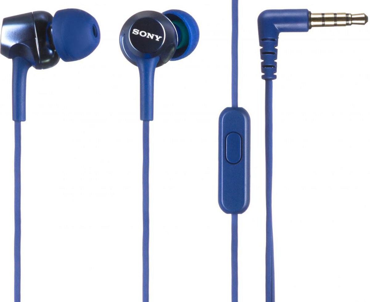 Sony MDR-EX250AP, Blue наушники - Наушники