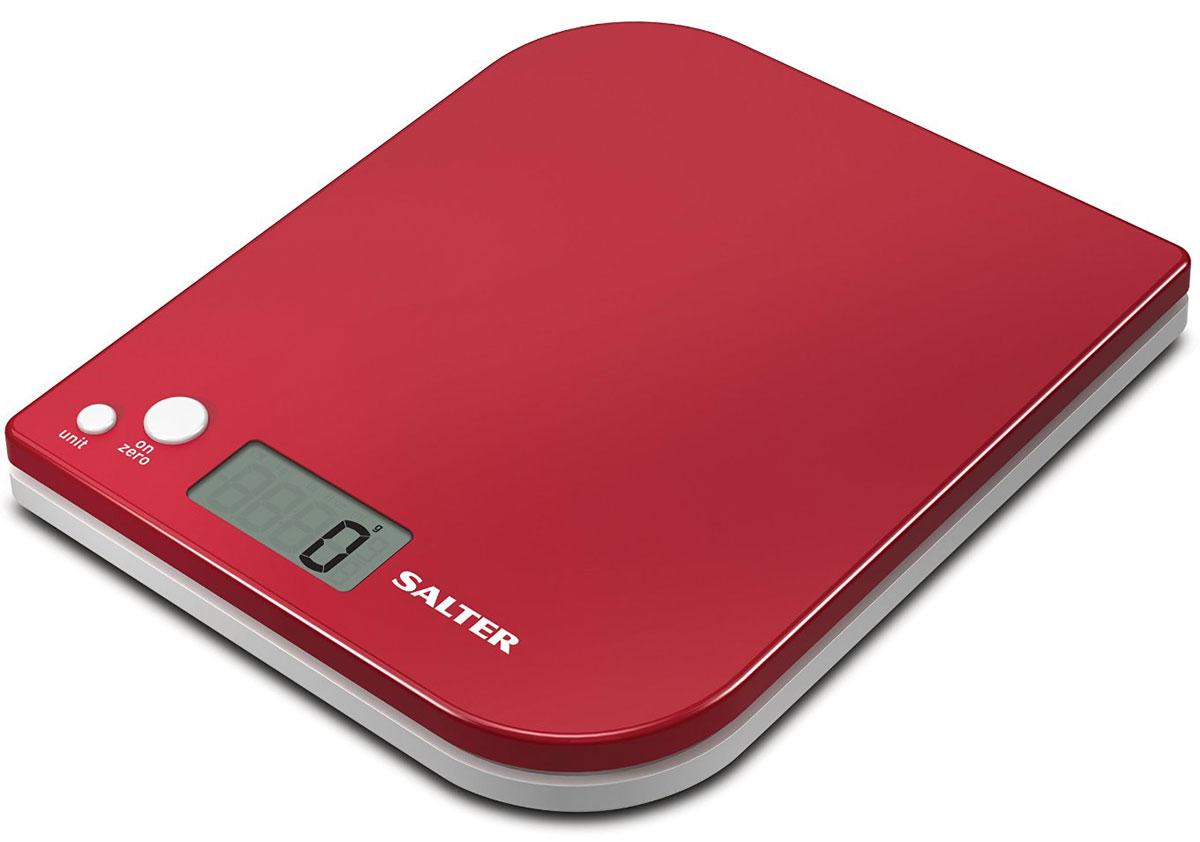 Salter 1177 RDWHDR, Red электронные кухонные весы1177 RDWHDRSalter 1177 - электронные кухонные весы с современным дизайном. Данная модель имеет функцию добавь и взвешивай для взвешивания нескольких ингредиентов в одной чаше. Вы можете легко осуществлять переключение между метрической и имперской системой измерения. Прибор оснащен легко читаемым дисплеем. Ингредиенты можно взвешивать прямо на весах или в отдельной емкости.Размер дисплея 4,5 х 2 см