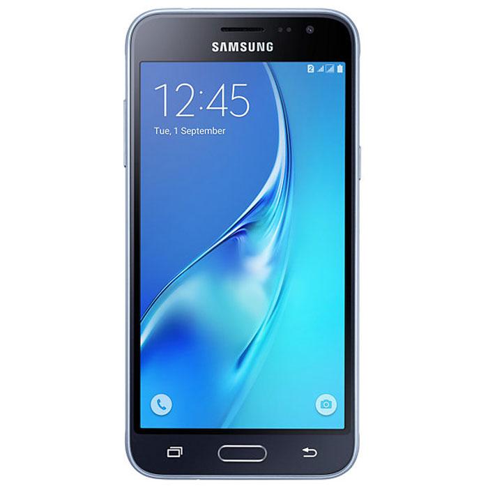 Samsung SM-J320F Galaxy J3, BlackSM-J320FZKDSERSamsung SM-J320F Galaxy J3 отличается более элегантным обновленным дизайном передней панели. Новый дизайн усиливает впечатление от просмотра. Тонкая черная рамка придает эффект глубокого погружения в изображение на экране.При толщине 7,9 мм и ширине 71,05 мм, смартфон Samsung SM-J320F Galaxy J3 выглядит более изящно, приятная на ощупь текстура корпуса подчеркивает элегантность формы и ощущение комфорта при использовании смартфона.Аккумулятор с емкостью 2600 мАч позволит оставаться на связи дольше обычного. При отсутствии возможности подзарядки используйте режим максимального энергосбережения.4-ядерный процессор и 1,5 ГБ оперативная память обеспечивают мгновенную реакцию смартфона на любые ваши действия.Удобное приложение Smart ManageПростой способ управления основными функциями смартфона: уровень заряда аккумулятора, доступный объем памяти, состояние использования оперативной памяти и безопасность смартфона.Телефон сертифицирован Ростест и имеет русифицированный интерфейс меню, а также Руководство пользователя.