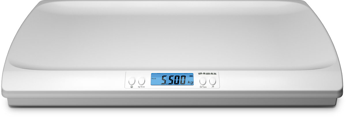 Детские весы Maman SBBC216 с подсветкой дисплея, автоматическим вычислением изменения веса между двумя последовательными взвешиваниями и проигрыванием колыбельных мелодий станут незаменимыми помощниками для любой мамы! Дисплей с подсветкой покажет вам точные данные, а возможность тарирования позволяет взвешивать младенца в пеленке, что делает процедуру комфортной для малыша. Наличие возможности проигрывания 4 вариантов колыбельных мелодий успокоит ребенка во время процедуры. Погрешность измерений: 30 г