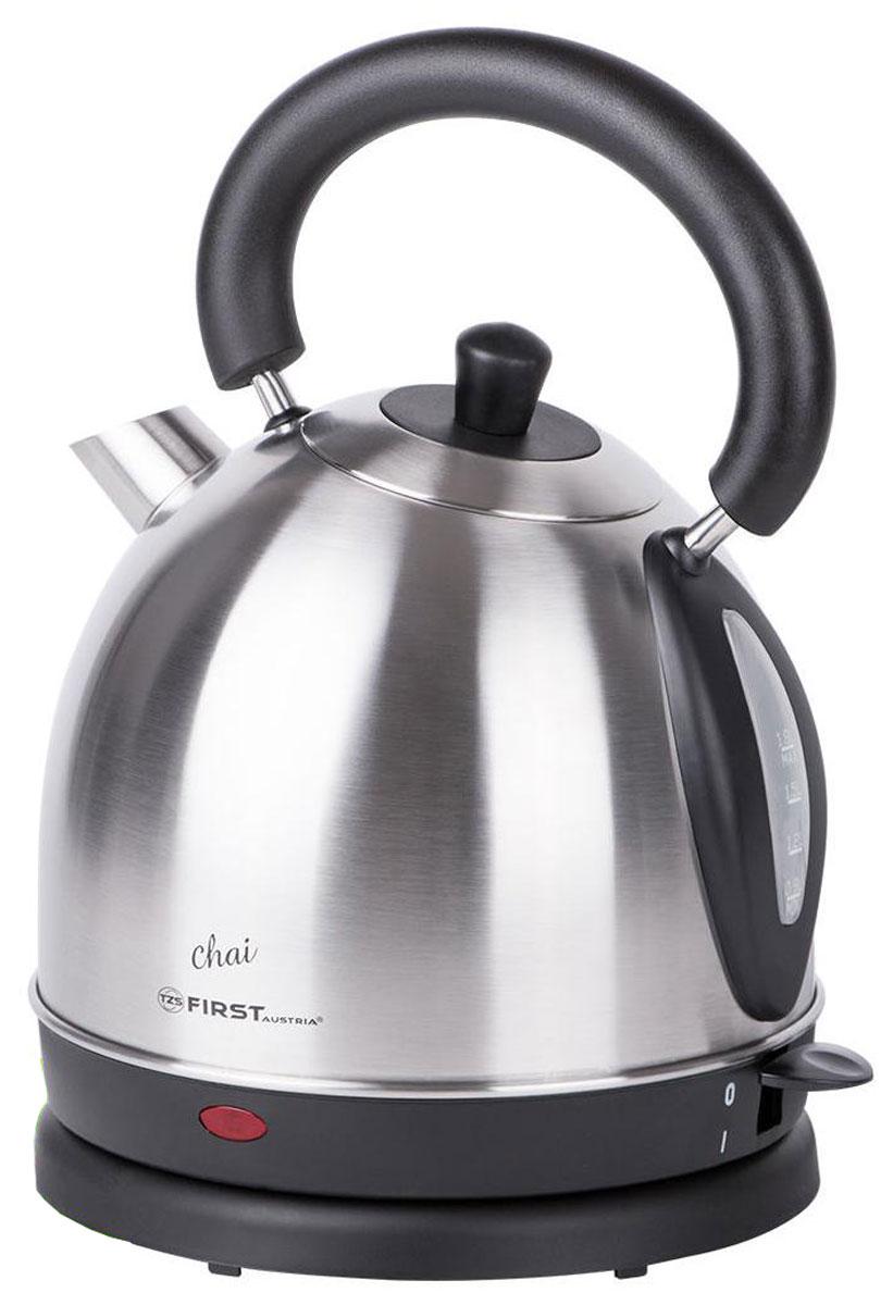 First FA-5411-9, Steel электрический чайник first fa 5411 8 black электрический чайник