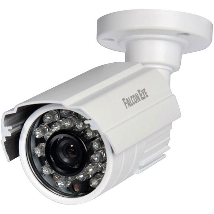Falcon Eye FE-IB720AHD/25M уличная камера видеонаблюденияFE-IB720AHD/25MУличная цветная видеокамера Falcon Eye FE-IB720AHD/25M для видеонаблюдения. Данная модель имеет качественную матрицу и обладает усовершенствованной ИК-подсветкой для ночной съемки. Компактный размер и небольшой вес дают возможность смонтировать устройство в любых местах, подходящих для видеонаблюдения.Размер камеры (с креплением): 6 х 5,5 х 15,4 см.