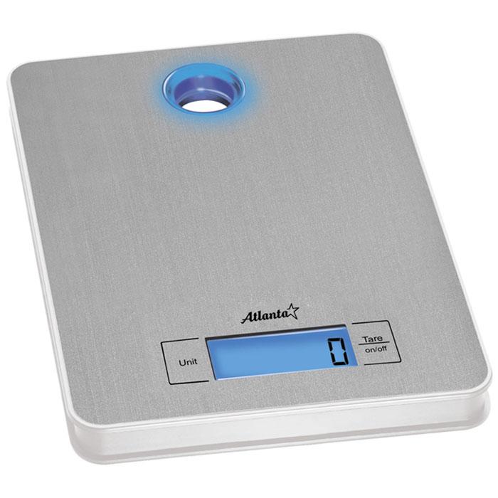 Atlanta ATH-804 весы кухонныеATH-804Кухонные электронные весы Atlanta ATH-804 - незаменимые помощники современной хозяйки. Они помогут точно взвесить любые продукты и ингредиенты. Кроме того, позволят людям, соблюдающим диету, контролировать количество съедаемой пищи и размеры порций. Предназначены для взвешивания продуктов с точностью измерения до 1 грамма.Полностью электронная технологияАвто отключениеФункция обнуления веса