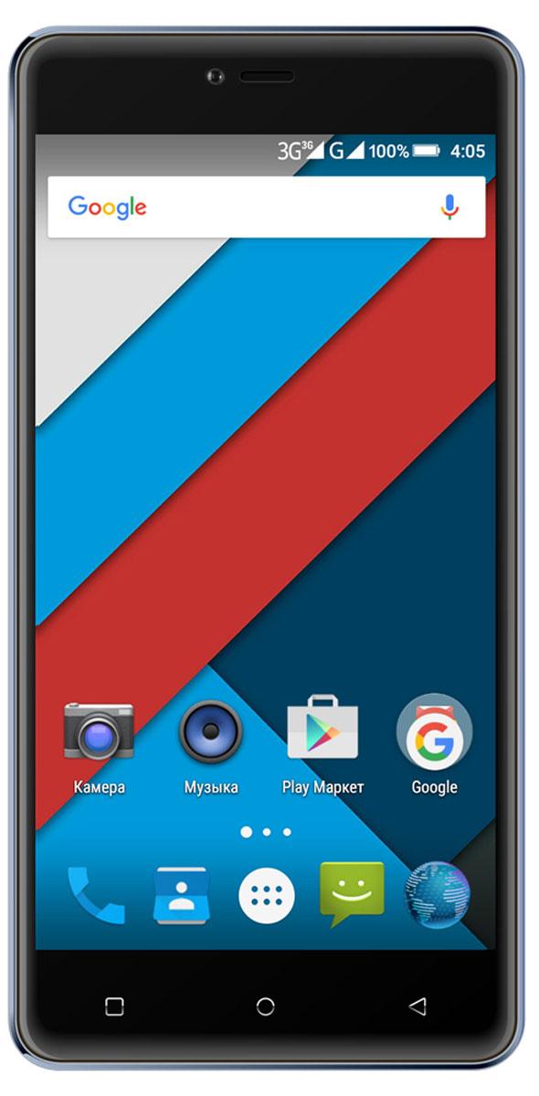 Highscreen Power Rage, Blue4607160934464Ведущий российский производитель смартфонов представляет Highscreen Power Rage - аппарат с 4000 мАч батареей в совершенном оформлении. Оставайтесь на связи всегда!Аппарат снабжён 5 дюймовым HD IPS экраном с разрешением 720х1280 пикселей. Экран смартфона имеет закруглённые края, создавая прекрасные тактильные ощущения и добавляя современный стиль во внешний облик устройства. Смартфон Highscreen Power Rage продаётся в разных цветах, предлагая возможность выбора. Телефон невероятно комфортен и удобно располагается в руке. Поддержка двух сим-карт позволяет комбинировать тарифные планы операторов с разными телефонными номерами. Модель смартфона Highscreen Power Rage снабжена 8 МП камерой с автофокусом и вспышкой. Для видеозвонков и селфи в аппарате предусмотрена фронтальная камера 5 МП.Смартфон сертифицирован Ростест и имеет русифицированный интерфейс меню, а также Руководство пользователя.