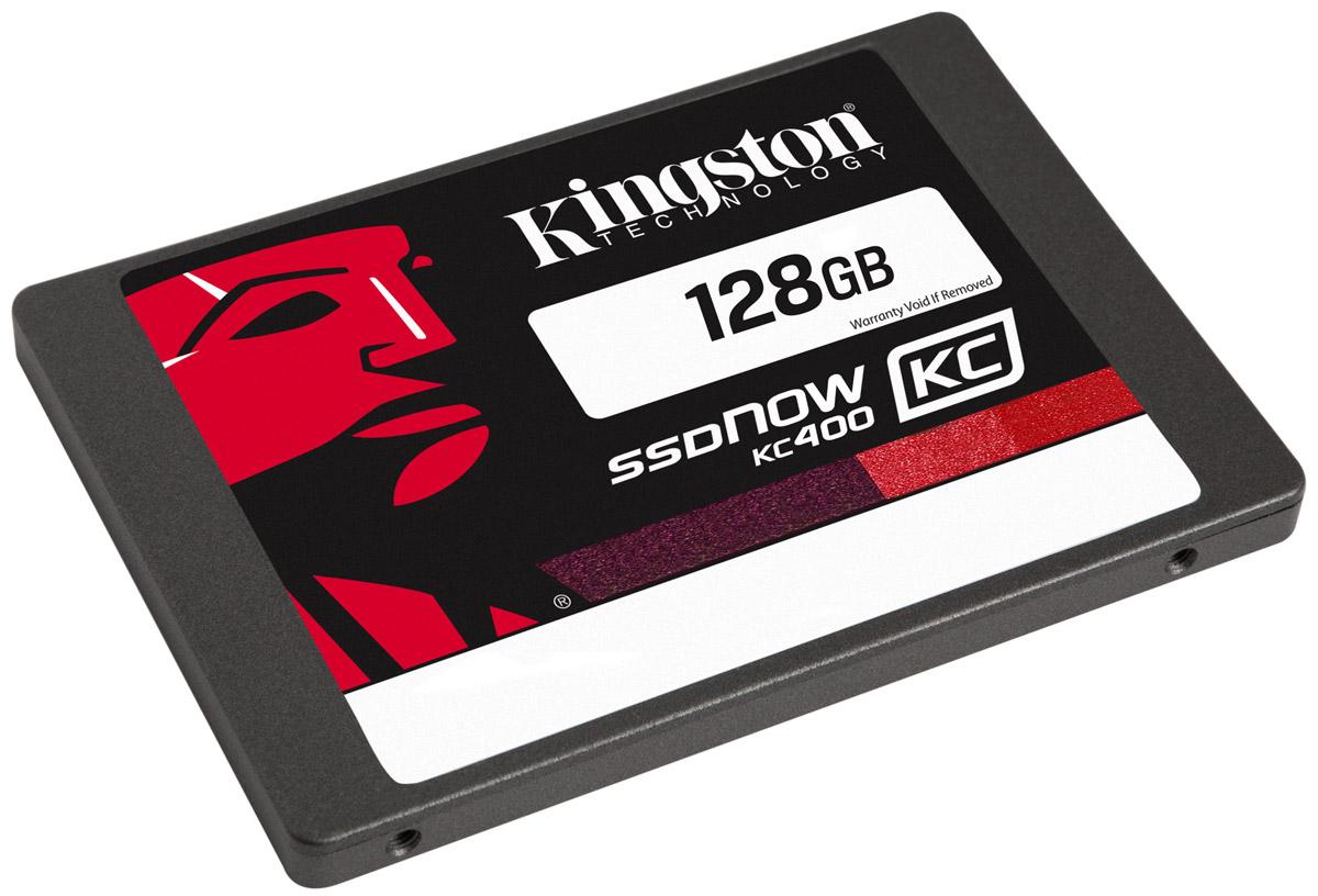 Kingston KC400 128GB SSD-накопитель (SKC400S37/128G)SKC400S37/128GТвердотельные накопители KC400 компании Kingston работают в 15 раз быстрее по сравнению с жесткими дисками; они обеспечивают стабильную скорость для сжимаемых и несжимаемых данных и повышают отзывчивость систем при запуске ресурсоемких приложений. В них используется 8-канальный контроллер Phison PS3110-S10 и четырехъядерный процессор для ускорения обработки повседневных задач и повышения продуктивности.Накопители обеспечивают сквозную защиту данных и поддерживают технологию SmartECC для сохранности данных, а также SmartRefresh для защиты от ошибок чтения. В случае возникновения ошибок данные воссоздаются; накопители восстанавливаются после аварийного отключения питания, благодаря защите от отключения питания на основе встроенного ПО. Современные контроллеры и память NAND обеспечивают высокую надежность хранения данных.