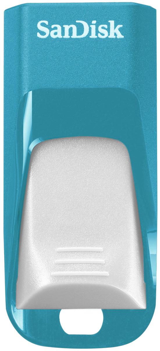 SanDisk Cruzer Edge EURO 2016 Football 32Gb, Blue USB-накопитель (SDCZ51-032G-E35BG)