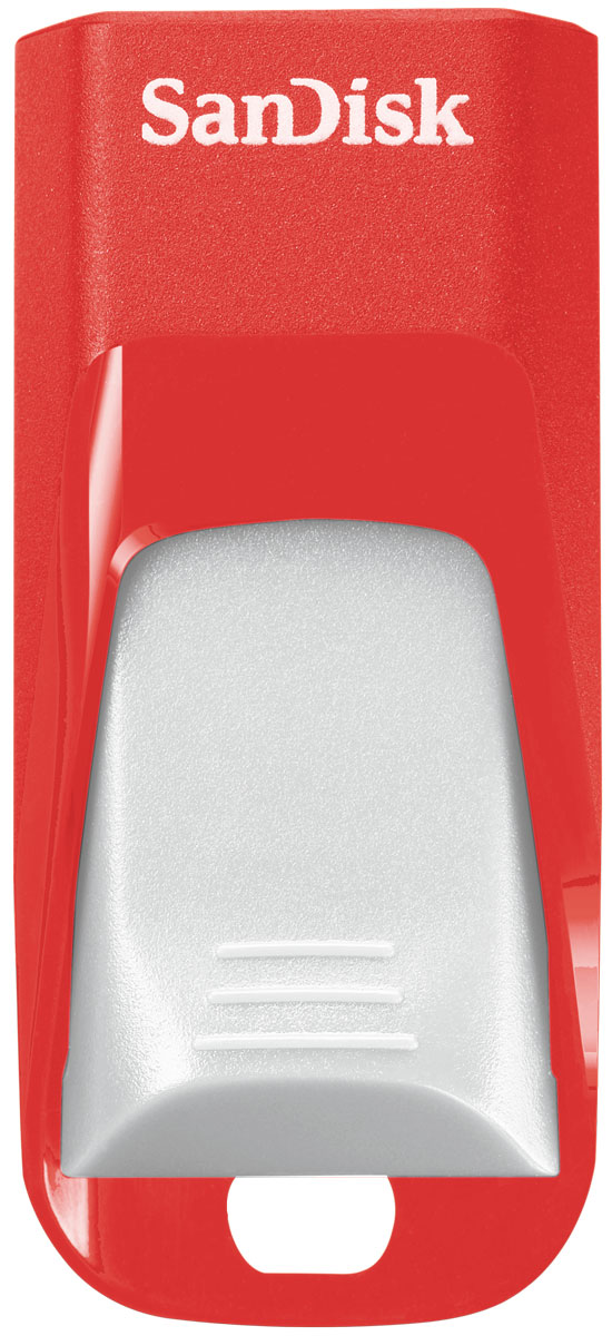 SanDisk Cruzer Edge EURO 2016 Football 64Gb, Red USB-накопитель (SDCZ51-064G-E35RG)