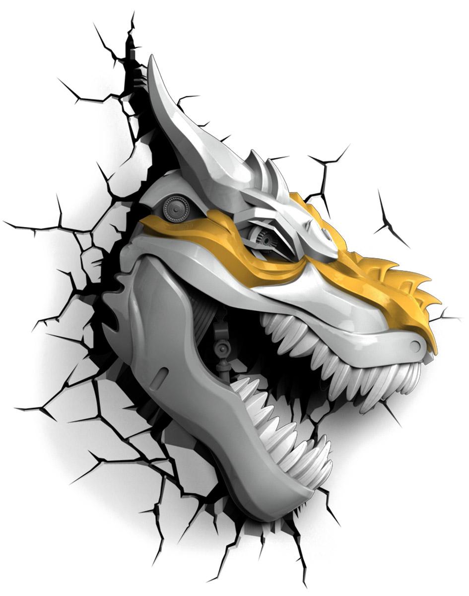Transformers Пробивной 3D светильник Гримлок