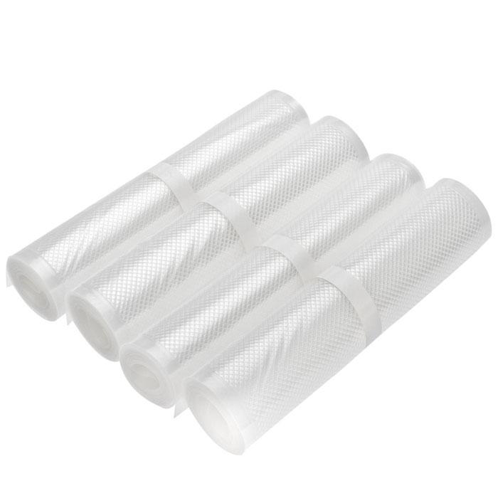 STATUS VB 20х300 рулоны для вакуумного упаковщика, 4 штVB 20*300-4Специальные прочные рулоны STATUS VB 20х300 для вакуумного упаковщика с ребристой структурой. Высокая прочность допускает замораживание, использование в СВЧ печи, готовку по технологии Sous-Vide.Длина рулона: 3 м