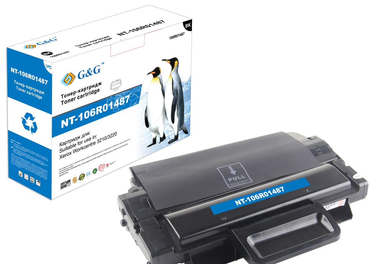 G&G NT-106R01487 тонер-картридж для Xerox WorkCentre 3210/3220NT-106R01487Картридж G&G NT-106R01487 для лазерных принтеров Xerox WorkCentre 3210/3220.Расходные материалы G&G для лазерной печати максимизируют характеристики принтера. Обеспечивают повышенную чёткость чёрного текста и плавность переходов оттенков серого цвета и полутонов, позволяют отображать мельчайшие детали изображения. Обеспечивают надежное качество печати.
