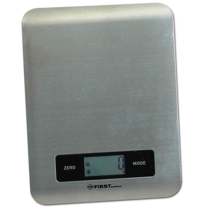 First FA-6403, Grey весы кухонные