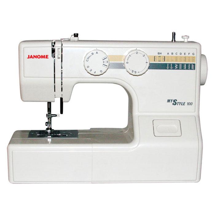 Janome MS 100 швейная машина janome ms 102 отзывы
