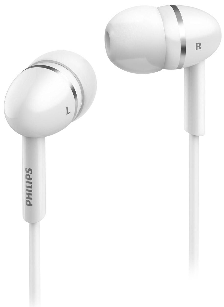 Philips SHE1450WT/51 наушникиSHE1450WT/51Крохотные излучатели наушников Philips SHE1450 обеспечивают плотность прилегания и полностью заполняют ушную раковину, что заглушает внешние источники звука и увеличивает впечатления от прослушивания. Излучатели воспроизводят динамичные низкие частоты и чистый звук. Идеальная длина кабеля, позволяет разместить аудиоустройство в нужном вам месте.Мягкая резиновая прокладка между наушниками и кабелем защищает соединение от разрыва при постоянном сгибании и продлевает срок службы наушников.В комплект входят 3 пары резиновых насадок разного размера, и вы гарантированно подберете пару, с которой эти наушники Philips будут сидеть идеально.