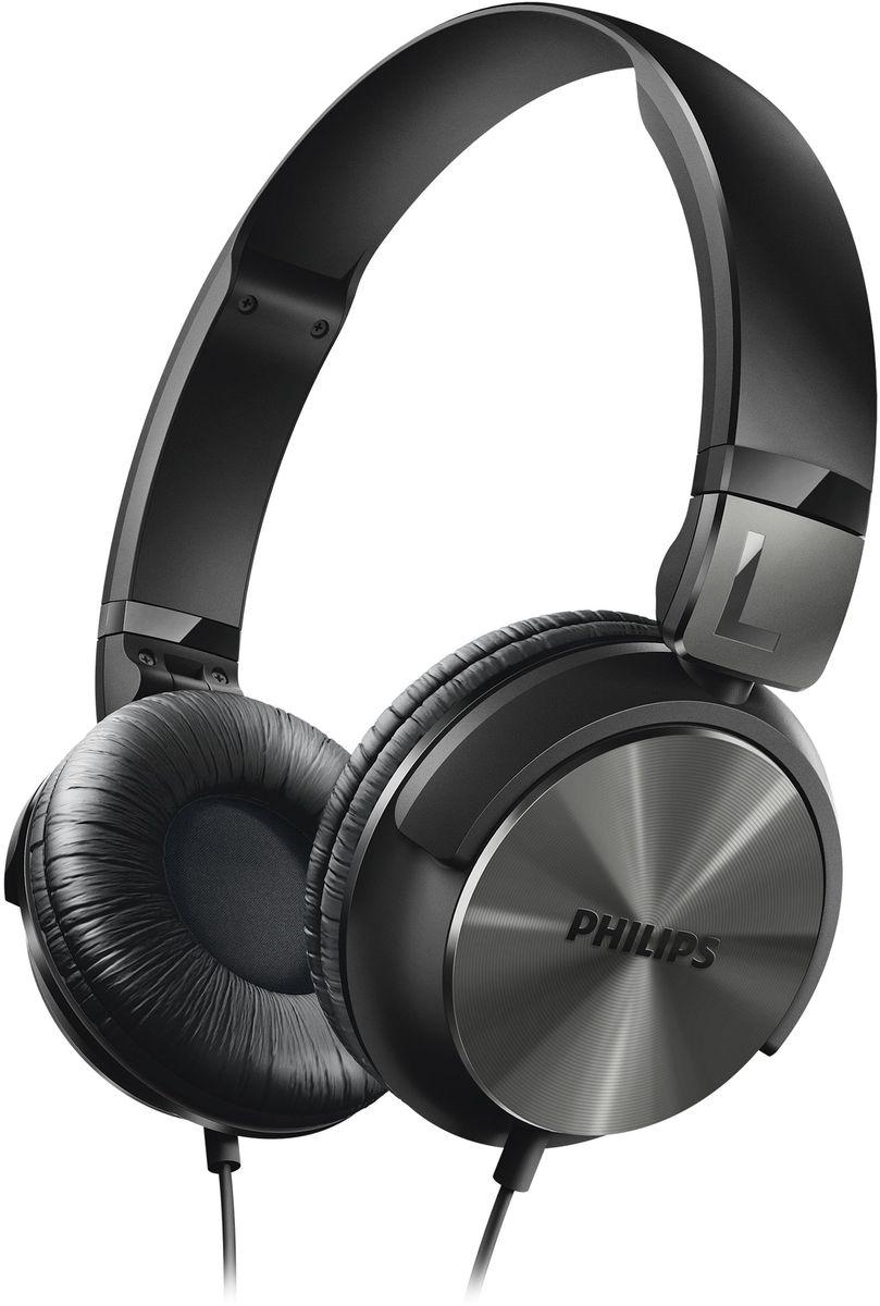 Philips SHL3160BK/00 наушникиSHL3160BK/00Наушники Philips SHL3160 в стиле DJ отличаются мощным звуком и глубокими басами. Благодаря поворачивающимся чашкам с мягкими амбушюрами вы получите невероятные ощущения от прослушивания музыки в дороге. Высокомощные 32-мм излучатели обеспечивают кристально чистое, детальное и естественное звучание. Закрытое акустическое оформление гарантирует надежную звукоизоляцию, отсекая окружающие шумы.Для обеспечения максимального комфорта при использовании в дороге эти наушники легко складываются, гарантируя удобство переноски.Регулируемые чашки наушников и оголовье для идеальной посадкиМягкие дышащие амбушюры для комфорта при длительном прослушиванииКомпактная плоская складная конструкция для удобства переноски