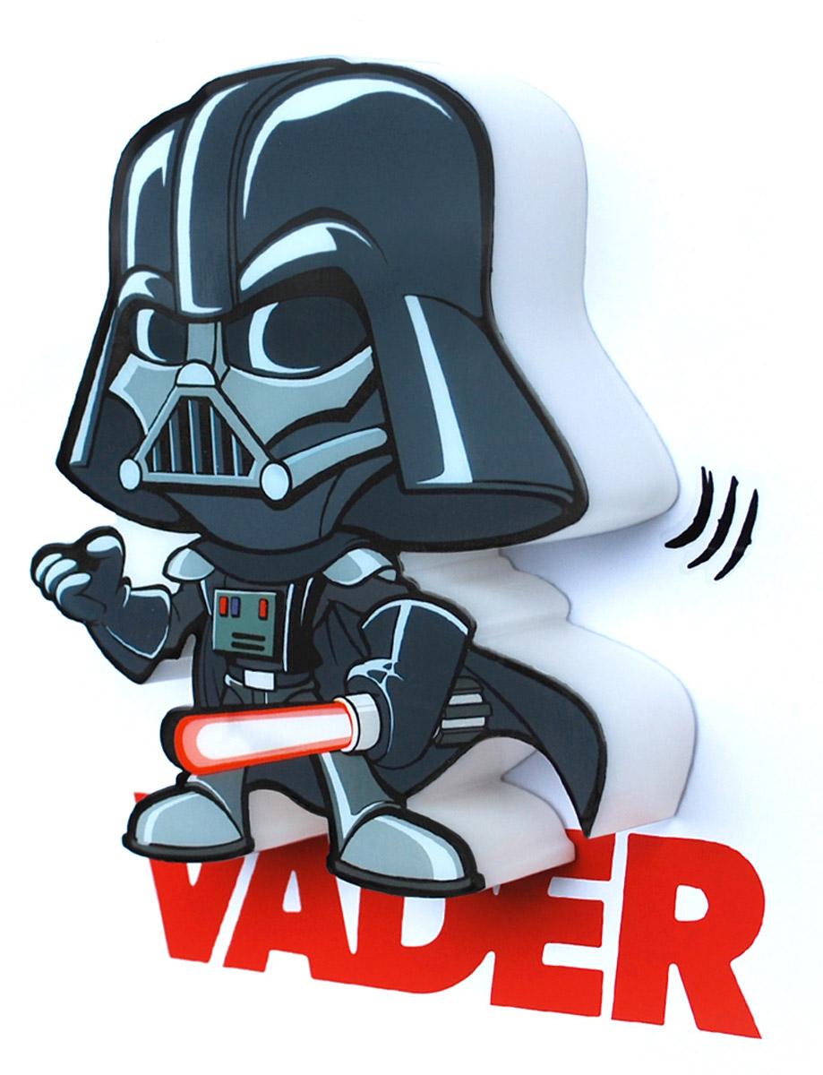 Star Wars Пробивной 3D мини-светильник Дарт Вейдер
