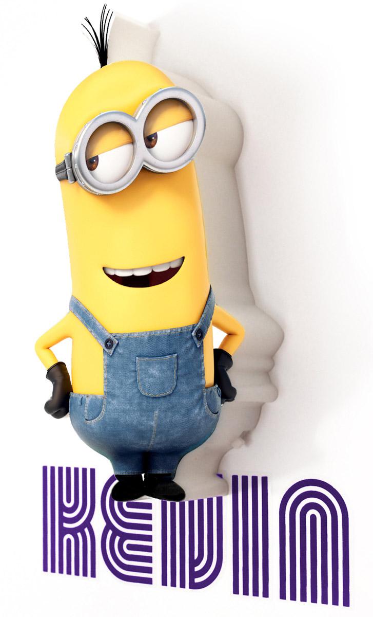 Minions Пробивной 3D мини-светильник Кевин