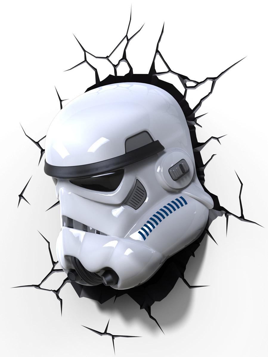 Star Wars Пробивной 3D светильник Штормтрупер
