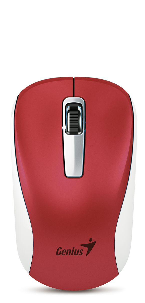 Genius NX-7010, Red мышь беспроводная31030114111Мышь Genius NX-7010 с технологией BlueEye для точного контроля над курсором практически на любых поверхностях. Питание мыши NX-7010 осуществляется от одной батарейки типоразмера AA, а для продления срока службы батарейки используется выключатель питания. Двунаправленная связь на частоте 2,4 ГГц с защитой от помех гарантирует надежную работу на расстоянии до 10 метров. Наслаждайтесь отзывчивостью курсора и быстрой прокруткой. Мышь NX-6500 отлично подойдет тем, кто любит путешествовать: она прекрасно сочетается с ультрабуками и другими компьютерами.