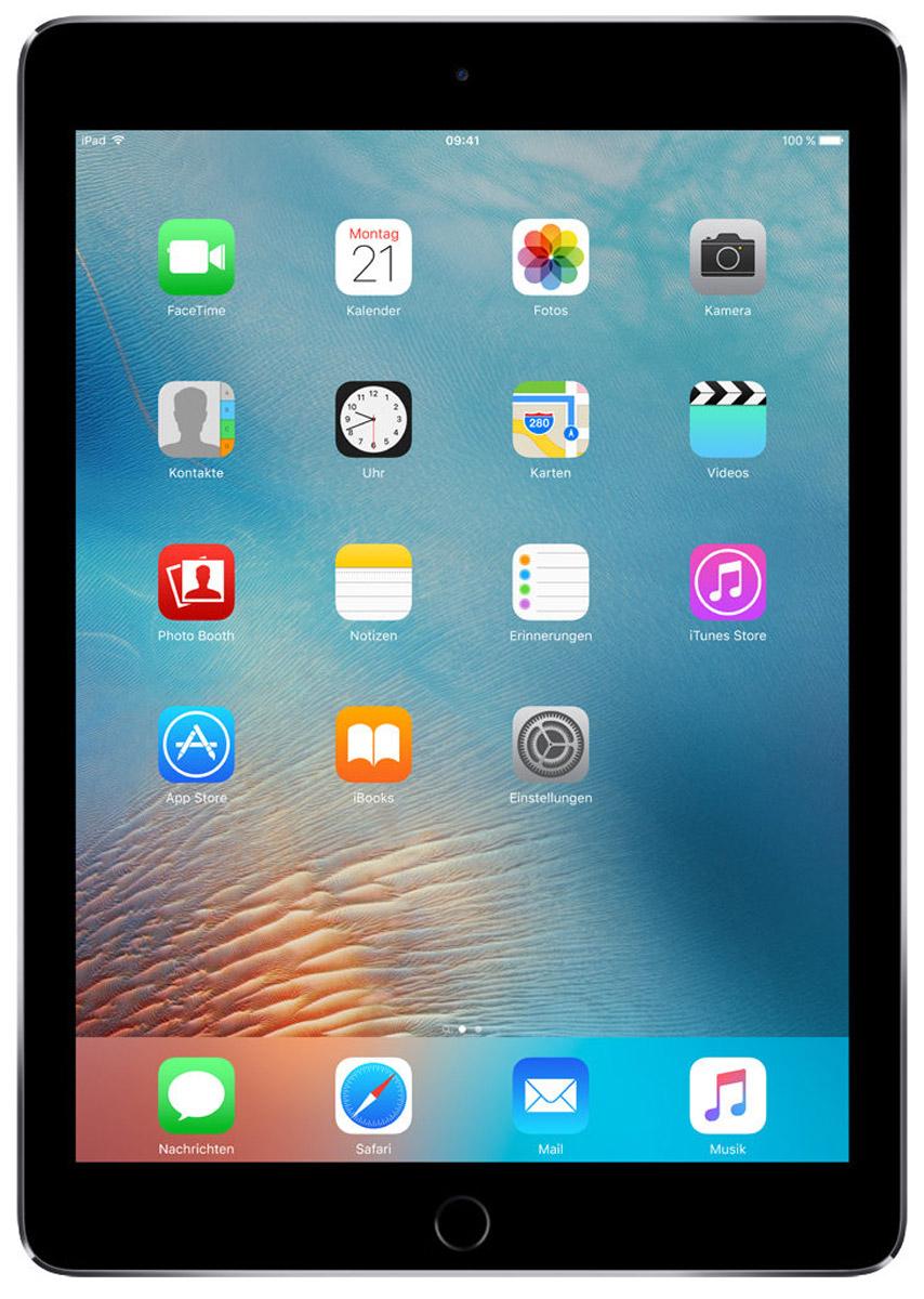 Apple iPad Pro 9,7 Wi-Fi 32GB, Space GrayMLMN2RU/AiPad Pro с дисплеем 9,7 дюйма весит менее 500 граммов и оснащен новым профессиональным дисплеем Retina с более высокой яркостью, расширенной цветовой палитрой и сниженным уровнем отражения. В новом iPad Pro также используется режим Night Shift и технология дисплея True Tone, позволяющая значительно улучшить регулировку баланса белого.Для невероятной производительности в устройстве установлен процессор A9X с 64-битной архитектурой, который превосходит по мощности большинство портативных компьютеров PC. Аудиосистема с четырьмя динамиками стала в два раза мощнее. Новая 12-мегапиксельная камера iSight позволяет снимать Live Photos и видео 4K. iPad Pro также оснащён 5-мегапиксельной HD-камерой FaceTime и поддерживает более быстрые беспроводные технологии. Кроме того, устройство совместимо с уникальным Apple Pencil и новой клавиатурой Smart Keyboard, созданной специально для iPad Pro с дисплеем 9,7 дюйма.В 9,7-дюймовом дисплее нового iPad Pro использованы самые передовые технологии, в том числе технология True Tone, которая позволяет с помощью четырёхканальных датчиков регулировать баланс белого на экране с учётом внешнего освещения, что обеспечивает более точную и естественную цветопередачу и комфорт для глаз. Усовершенствованный дисплей Retina стал на 25% ярче, а уровень отражения снизился на 40% по сравнению с iPad Air 2, поэтому изображение на экране можно легко рассмотреть как при искусственном, так и при естественном свете. На iPad Pro используется та же расширенная цветовая палитра, что и на iMac с дисплеем Retina 5K, а насыщенность цвета увеличилась на 25%. Специальный контроллер синхронизации, фотовыравнивание и оксидный тонкоплёночный транзистор обеспечивают невероятную точность при передаче цветов, а также высокую контрастность и чёткость изображения. А режим Night Shift в iOS 9.3 использует часы iPad Pro и службу геолокации, чтобы автоматически изменять цвета дисплея на более тёплые после наступления темноты, б