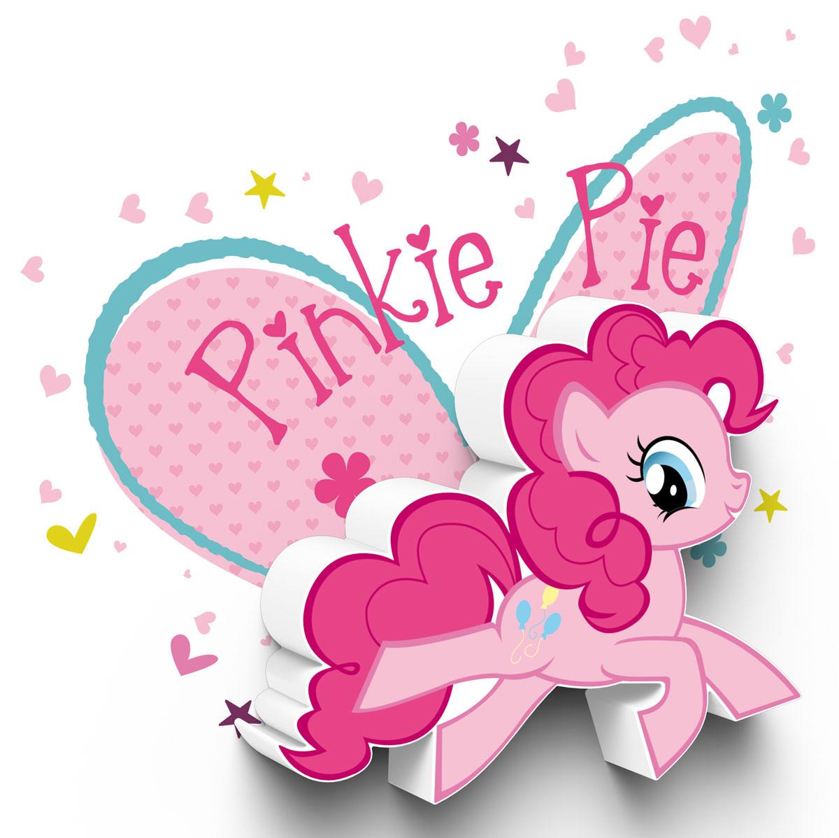 My Little Pony Пробивной 3D мини-светильник Pinky Pie
