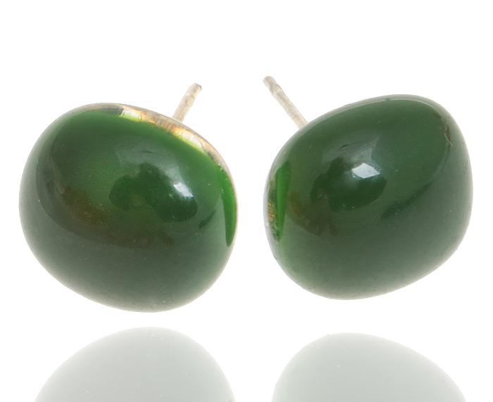 Серьги-пусеты Нефритовые. Муранское стекло, бижутерный сплав серебряного тона, ручная работа. Murano, Италия (Венеция)Пуссеты (гвоздики)Серьги-пусеты Нефритовые.Муранское стекло, бижутерный сплав серебряного тона, ручная работа.Murano, Италия (Венеция).Размер - 1 х 1 см.Каждое изделие из муранского стекла уникально и может незначительно отличаться от того, что вы видите на фотографии.