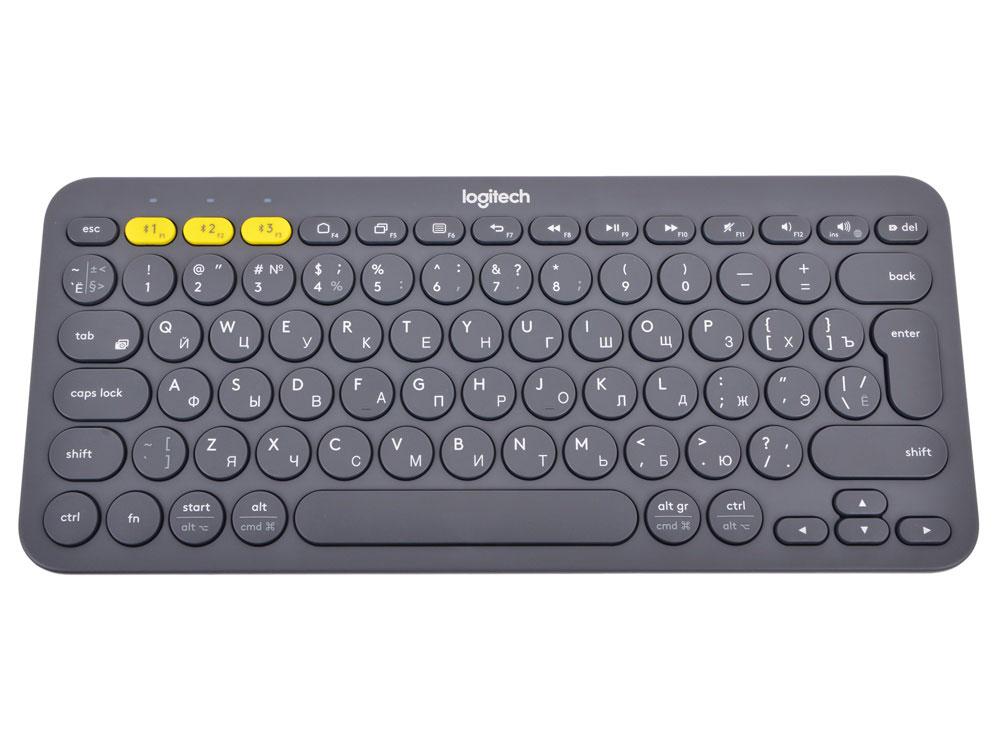 Logitech K380, Dark Grey беспроводная клавиатура920-007584Logitech K380 Multi-Device — это универсальная Bluetooth-клавиатура, которую можно использовать в любом уголке дома.Вводить текст с помощью этой мобильной клавиатуры на смартфоне и планшете так же легко и удобно, как и на настольном ПК.K380 Multi-Device — это беспроводная клавиатура, которую можно подключить к любому устройству с поддержкой Bluetooth и внешних клавиатур.Подключайте до трех устройств одновременно, например компьютер с ОС Windows, iPhone и планшет Android. Просто коснитесь кнопки, чтобы начать ввод текста на другом устройстве.Универсальная клавиатура K380 Multi-Device распознает каждое устройство и автоматически назначает клавиши, чтобы вы могли пользоваться привычной раскладкой и часто используемыми сочетаниями клавиш.Обнаруживая определенное устройство, например компьютер Apple или Windows, универсальная клавиатура посылает правильные коды для клавиш.