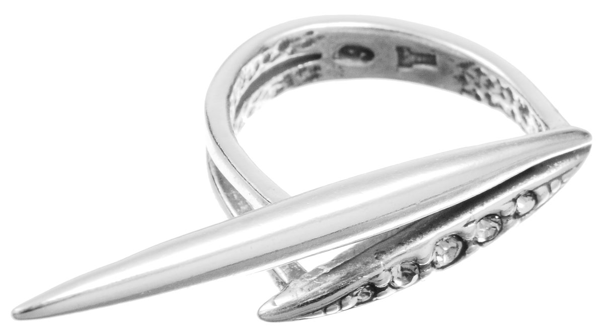 Кольцо Jenavi Бонанза, цвет: серебряный, белый. f6333000. Размер 16Коктейльное кольцоОригинальное кольцо Jenavi Бонанза, выполненное из ювелирного сплава с покрытием из черненого серебра, оформлено декоративным элементом, который инкрустирован кристаллами Swarovski.Красивое и необычное украшение блестяще подчеркнет ваш изысканный вкус и поможет внести разнообразие в привычный образ.