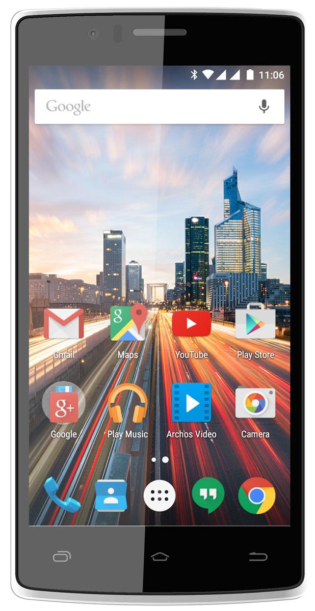 Archos 50d Helium50d HeliumArchos 50d Helium объединяет в себе непревзойденную скорость 4G с уникальным, вдохновленным природой, дизайном. Смартфон полностью поддерживает технологию 4G/LTE (категория 4, 150 Мбит/с). С такой высокой скоростью соединения вы сможете открыть для себя новые возможности использования смартфона: сверхбыстрый доступ к Интернет-ресурсам, полноэкранное потоковое HD-видео, онлайн-игры, мгновенный доступ к облачным хранилищам и многое другое.Удивительное разрешение (1280 x 720) на 5-дюймовом экране обеспечивает то же количество пикселей, что и ваш большой HD-телевизор, предоставляя дополнительную четкость текста и невероятную четкость фотографий и видео. Технология IPS дает истинно яркие цвета, дополнительные широкие углы обзора, чтобы изменить к лучшему ваше представление об удобстве использования смартфонов. Используя четырехъядерный процессор Qualcomm Snapdragon 410, данная модель сочетает в себе лучшую производительность с расширенными возможностями и лучшей энергоэффективностью. Технология ARM Cortex A53 на 25% быстрее предыдущего поколения процессоров, что обеспечивает вас необходимой мощностью для запуска требовательных приложений, игр и комфортного интернет серфинга. Делайте великолепные снимки, записывайте видео в HD-качестве, используя основную 13-мегапиксельную камеру. С помощью фронтальной камеры оставайтесь на видеосвязи с друзьями и семьей с помощью приложения Google Hangouts или его аналогов.Широкие возможности поддержки двух сим-карт позволяют управлять сетями двух разных провайдеров одновременно, в результате чего две ваши мобильные подписки работают совместно и присутствуют в одном телефоне. Смартфон обладает лучшей системой поддержки мультимедиа-приложений Archos Media Center: индивидуальные приложения для видео и музыки, поддерживающие лучшие форматы и кодеки, работают с автосубтитрами и системами для потоковой передачи данных с планшета или компьютера на смартфон или со смартфона на телевизор с функцией DLNA. Получите макси
