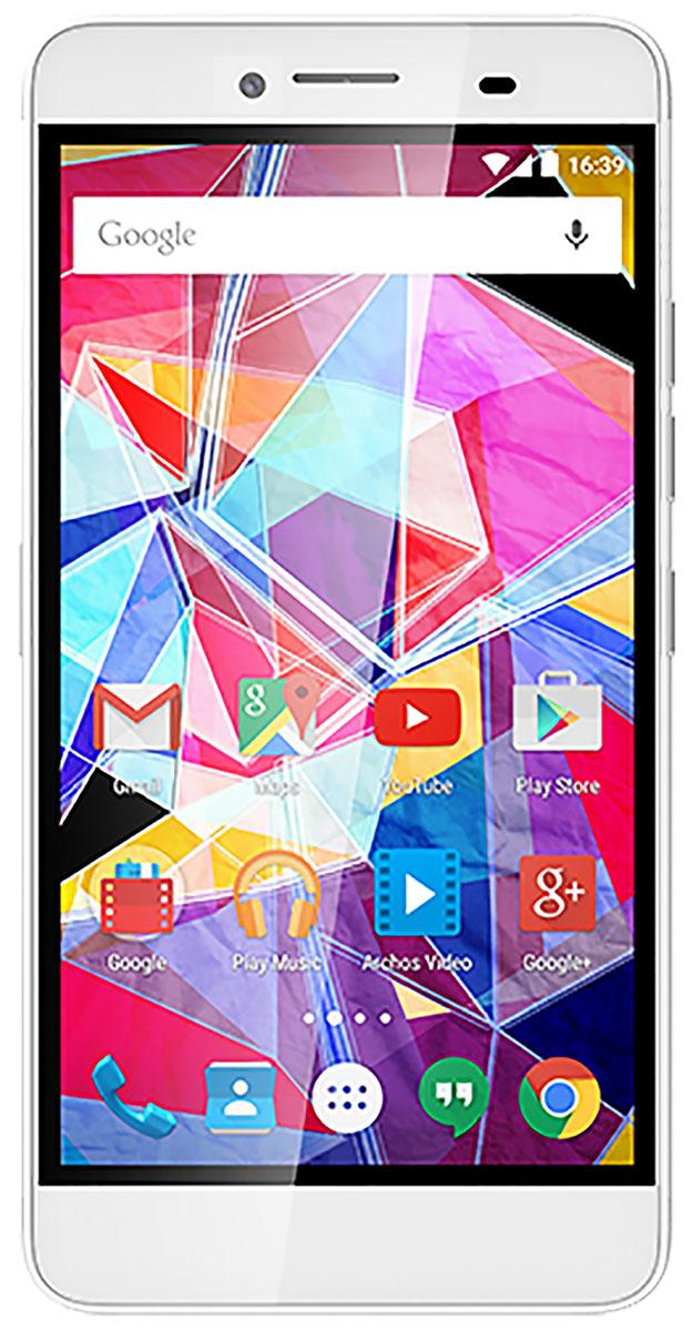 Archos Diamond PlusDiamond PlusArchos Diamond Plus - исключительно новаторский смартфон. Элегантный и эргономичный дизайн с использованием металлического каркаса подчеркивает основательность подхода к проектированию модели. Вы будете впечатлены его мощью, производительностью, скоростью и отзывчивостью.Технологичный восьмиядерный процессор MediaTek MT6753 обеспечивает высочайшую производительность. Приложения и игры работают максимально плавно, давая возможность насладиться всеми преимуществами мультизадачности. Используйте все преимущества сети 4G/LTE для серфинга интернет, скачивания данных и просмотра видео.Большой 5,5 дюймовый экран обладает высоким качеством картинки. С ним можно всецело погрузиться в яркий мир игр и кино, наслаждаясь высокой четкостью изображения благодаря разрешению Full HD (1080p). Технология IPS предлагает яркие и сочные цвета, широкие углы обзора.Archos Diamond Plus оснащен двумя микрофонами и системой шумоподавления для обеспечения максимального качества передачи вашего голоса при общении. Встроенный динамик обладает качественным и глубоким звучанием.Смартфон поддерживает инновационную технологию, которая обеспечит доступ к приложениям, даже если дисплей отключен. Больше нет нужды искать кнопки на корпусе, просто дважды коснитесь дисплея и он оживет.Archos Diamond Plus - это не только смартфон, но и продвинутая компактная цифровая камера. Смартфон оснащен двумя камерами: основной (16 Мпикс) и фронтальной (8 Мпикс). Последняя поддерживает режиме картинка-в-картинке с возможностью одновременно записывать видео и делать снимки. Используя автофокус можно делать невероятно четкие снимки. И, конечно, не забудьте про видеочаты с друзьями и родными в любой точке мира.Современная версия Android – Lollipop 5.1 – более эффективно использует ресурсы аккумулятора, а также предлагает внушительный список изменений, призванных упростить жизнь пользователя.Телефон сертифицирован Ростест и имеет русифицированный интерфейс, меню и Руководство пользователя.
