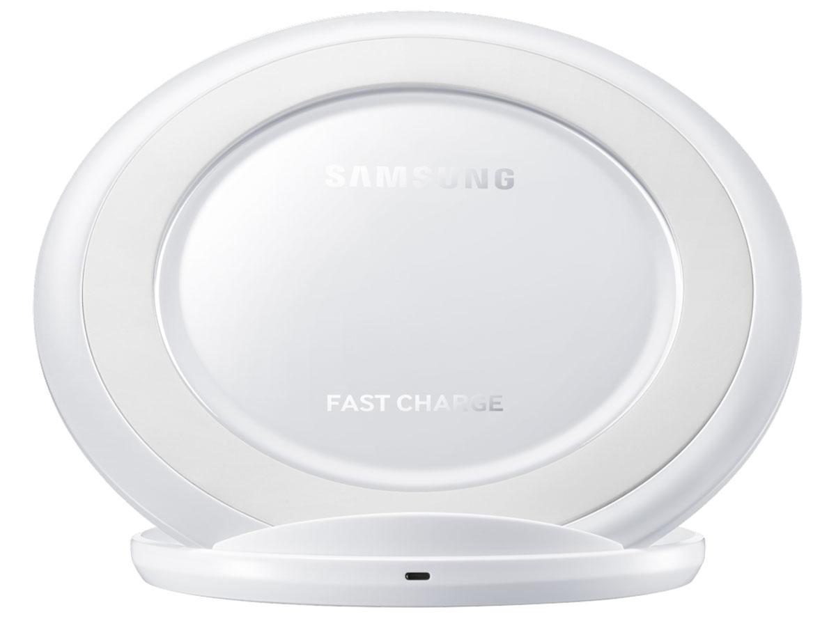 Samsung EP-NG930 беспроводное зарядное устройство, WhiteEP-NG930BWRGRUБеспроводное зарядное устройство Samsung EP-NG930 с поддержкой стандарта Qi поможет найти быстрый выход из сложной ситуации, если ваш смартфон Samsung разрядился в самый неподходящий момент, а времени на зарядку очень мало. Заряд аккумулятора происходит индукционным методом.