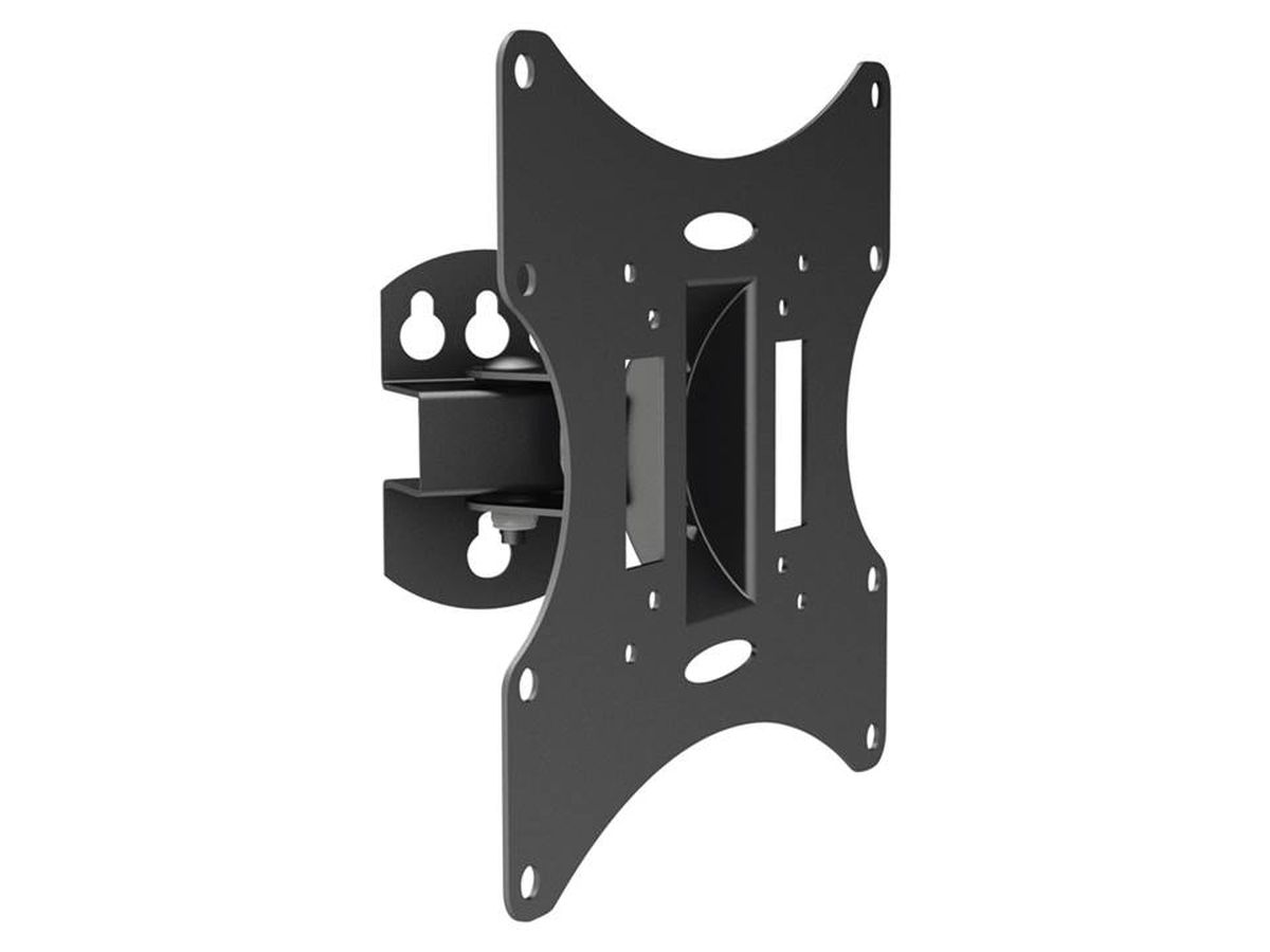 Arm Media LCD-201, Black кронштейн для ТВLCD-201Arm Media LCD-201 - настенный кронштейн для LCD мониторов и телевизоров с диагональю 15-40 весом до 30 кг. Надежная стальная конструкция легка в монтаже и имеет плавную регулировку наклона.