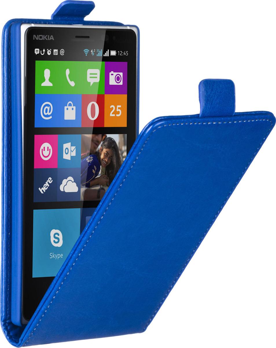 Skinbox Flip Case чехол для Nokia Lumia 830, Blue2000000058573Чехол Skinbox Flip Case для Nokia Lumia 830 выполнен из высококачественного поликарбоната и экокожи. Он обеспечивает надежную защиту корпуса и экрана смартфона и надолго сохраняет его привлекательный внешний вид. Чехол также обеспечивает свободный доступ ко всем разъемам и клавишам устройства.