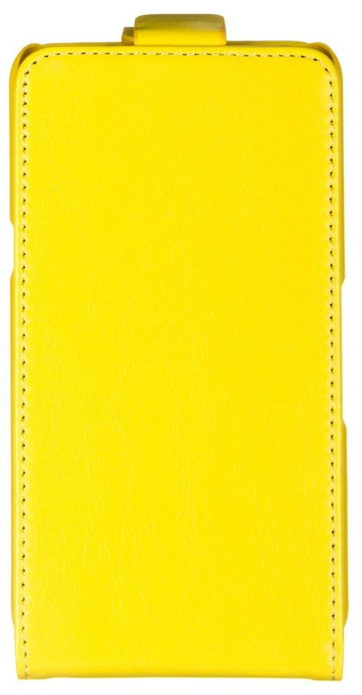 Skinbox Flip Case чехол для Sony Xperia E4g, Yellow skinbox silicone чехол для sony xperia e4g transparent