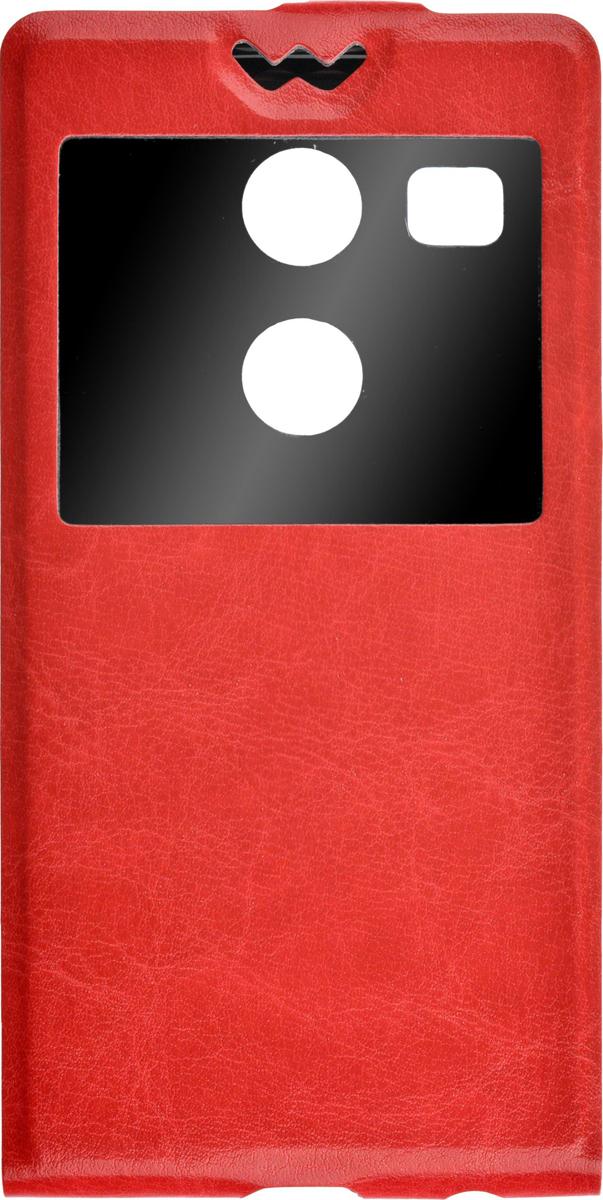 Skinbox Flip Slim чехол для LG Nexus 5X, Red2000000081892Чехол Skinbox Flip Slim для LG Nexus 5X выполнен из высококачественного поликарбоната и экокожи. Он обеспечивает надежную защиту корпуса и экрана смартфона и надолго сохраняет его привлекательный внешний вид. Чехол также обеспечивает свободный доступ ко всем разъемам и клавишам устройства. Благодаря функциональному окну отсутствует необходимость открывать чехол для того, чтобы ответить на вызов, проверить время, воспользоваться камерой или любой другой функцией.
