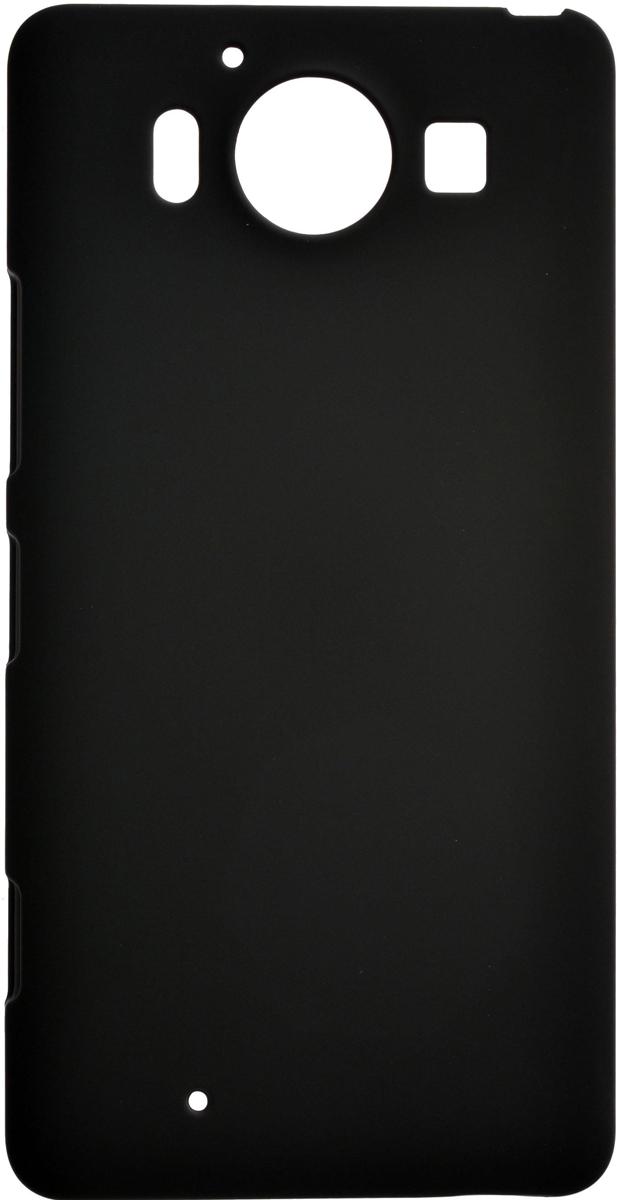 Skinbox 4People чехол для Microsoft Lumia 950, Black2000000081991Чехол-накладка Skinbox 4People для Microsoft Lumia 950 бережно и надежно защитит ваш смартфон от пыли, грязи, царапин и других повреждений. Выполнена из высококачественного поликарбоната, плотно прилегает и не скользит в руках. Чехол-накладка оставляет свободным доступ ко всем разъемам и кнопкам устройства.