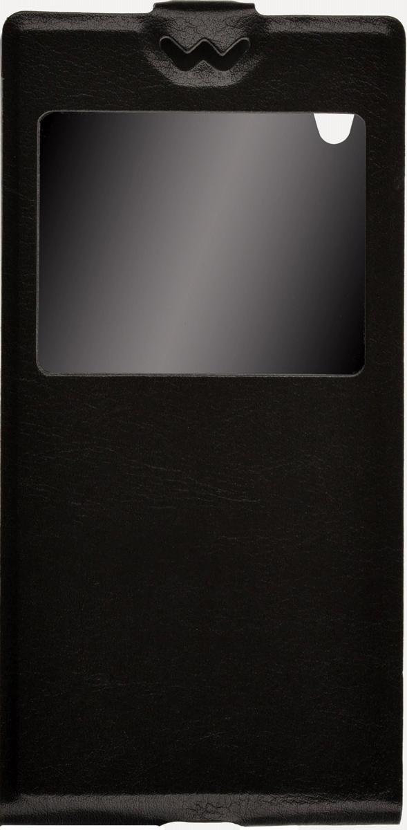 Skinbox Flip Slim AW чехол для Sony Xperia Z5, Black skinbox flip slim aw чехол для sony xperia e4g black